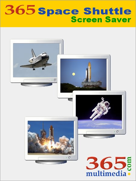 365 Space Shuttle Screen Saver Image
