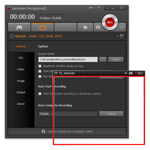 Bandicam Screen Recorder Image