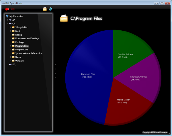 Disk Space Finder Image