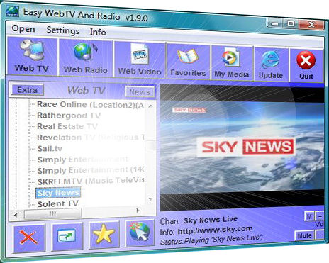 Easy Web TV And Radio Image