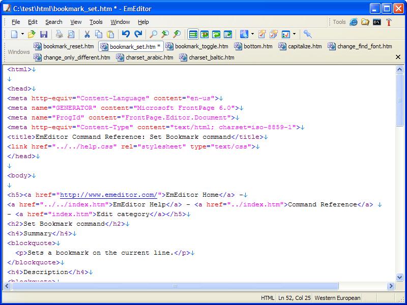 Windows10up.com Download Free Text Editor Free Screenshot - EmEditor Text Editor Free is a free text