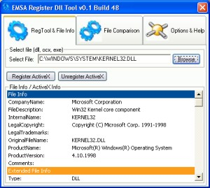 Emsa Register Dll Tool Image