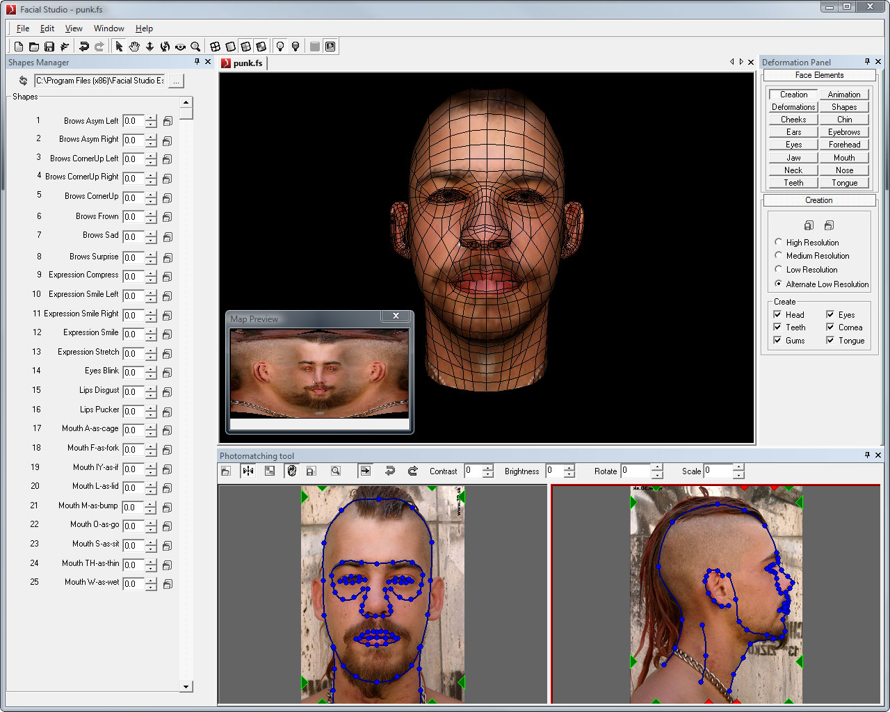 Facial Studio for Windows Image
