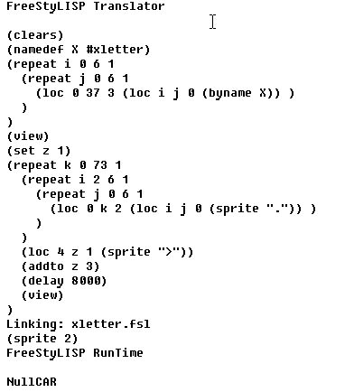 lisp interpreter for windows: