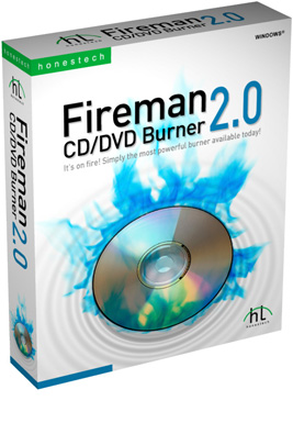 HT Fireman CD/DVD Burner Image