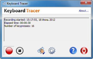 Keyboard Tracer Image