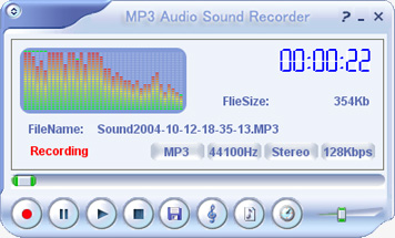 MP3 Audio Sound Recorder Image
