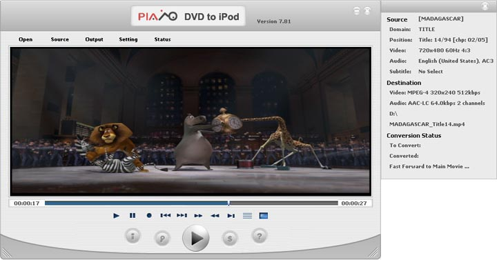 Plato DVD to iPod Converter Image