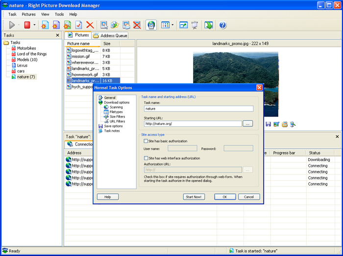 Right Picture Download Manager Image