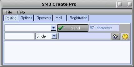 SMS Create Pro Image