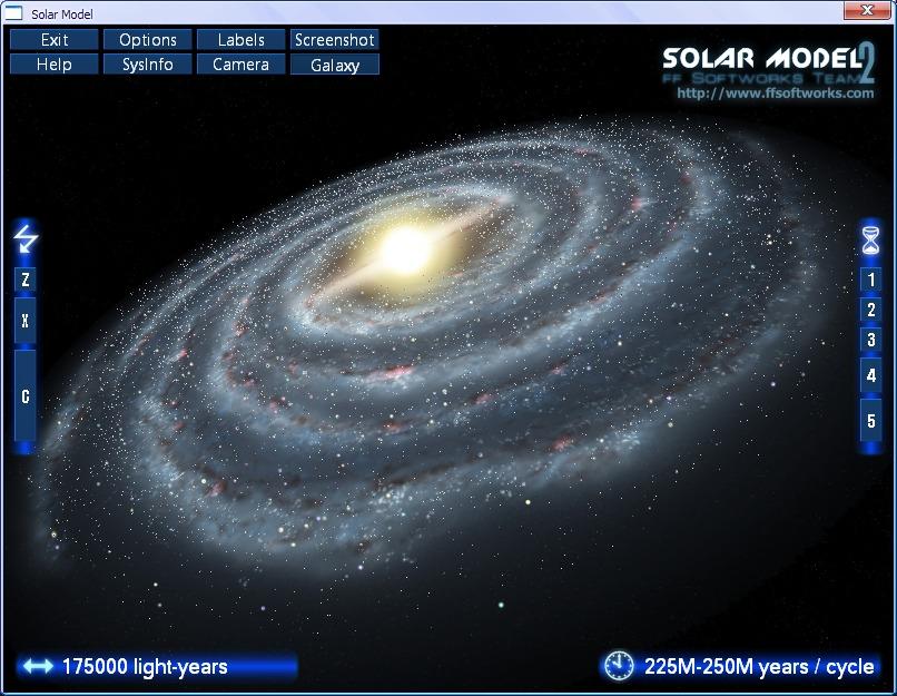 FileGets: Solar Model Screenshot - The Solar Model is real ...
