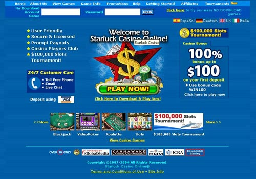 Starluck Casino