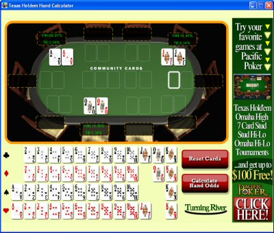 Texas Holdem Calculator