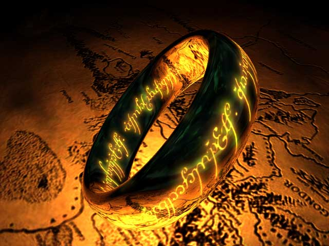 The Lord of the Rings: The One Ring 3D Screensaver Image