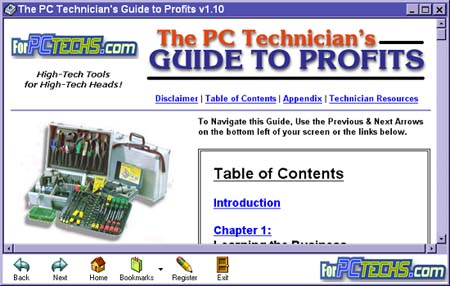 The PC Technicians Guide to Profits Image