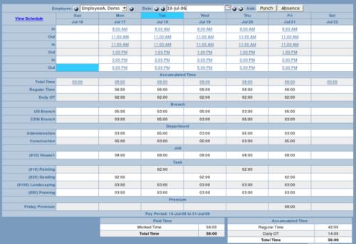 Filegets Timetrex Payroll And Time Management Screenshot