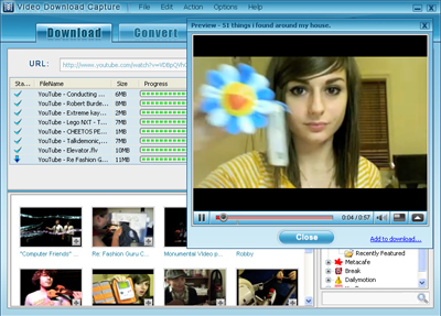Video Download Capture Image