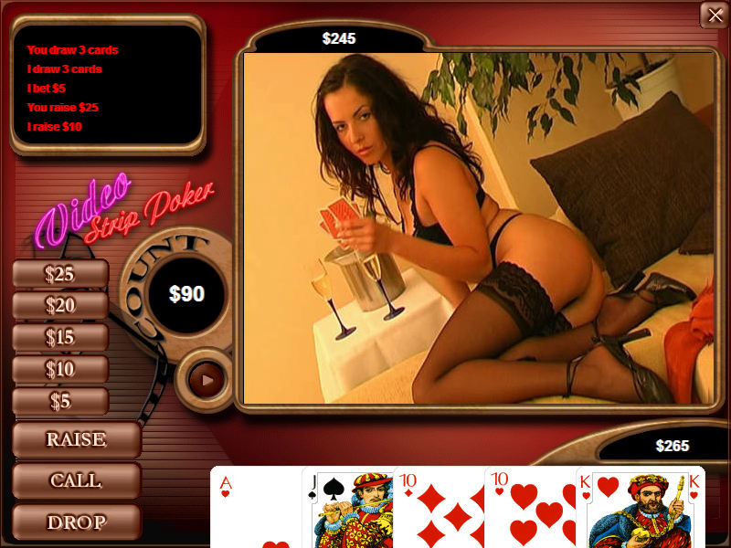 Video Strip Poker PC Image