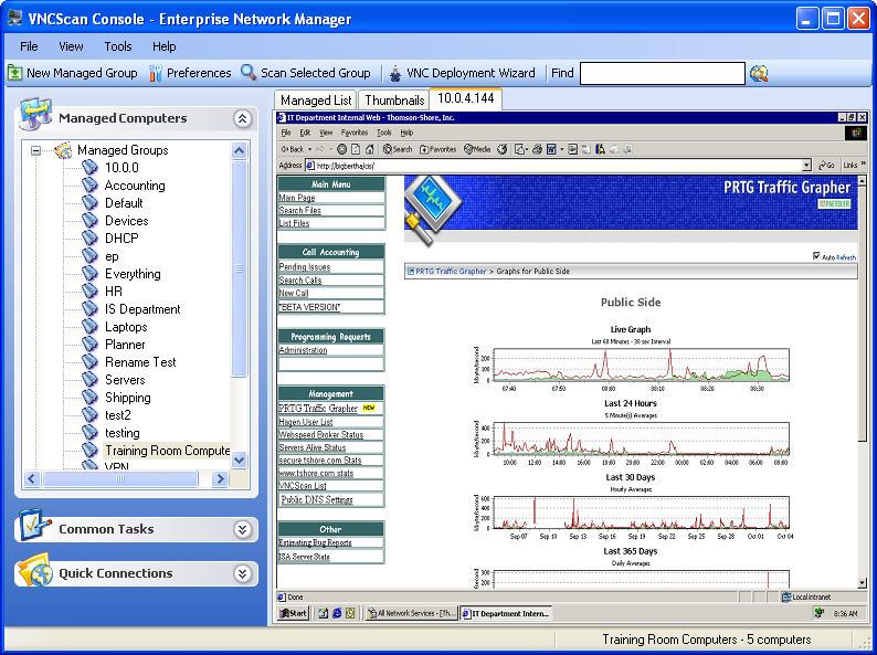 Front view management console download
