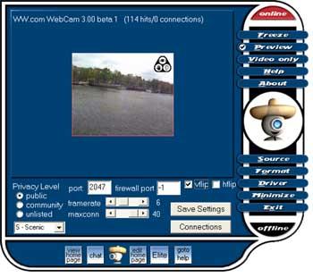 Filegets webcam screenshot world of for Free internet cam