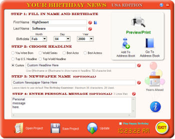 Your Birthday News Image