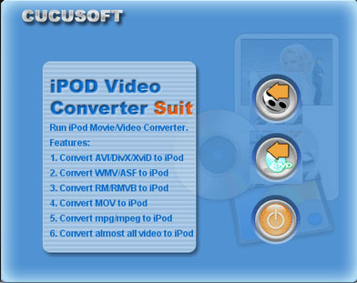 01 Cucusoft iPod Video Converter + DVD Software Download