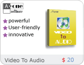 A-one Video To Audio Convertor Software Download