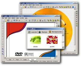 Apollo CD & DVD Label Maker Software Download