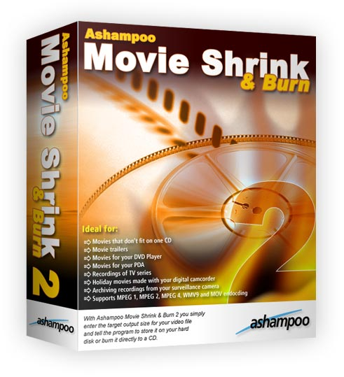 Информация о программе Название: Ashampoo Movie Shrink and Burn 3.02 Год вы
