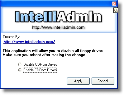 CD ROM Drive Disabler Software Download