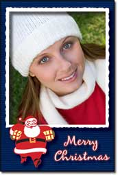 Christmas and Holiday Card Frame Pack Software Download