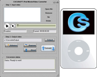 Cucusoft iPod Movie/Video Converter 08 Software Download