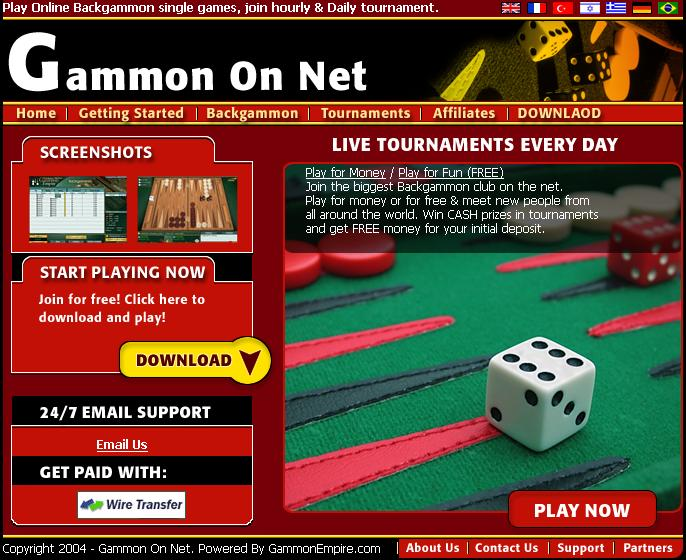 Gammon On Net Software Download