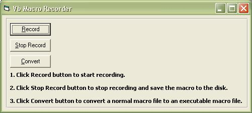 Macro Recorder ActiveX Control Software Download