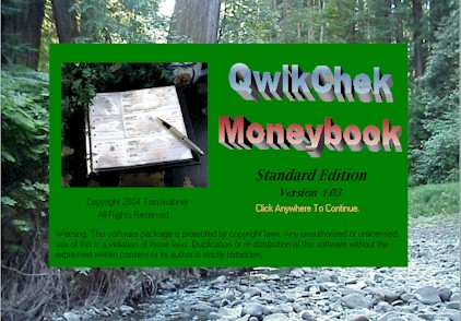 QwikCheck Moneybook Software Download