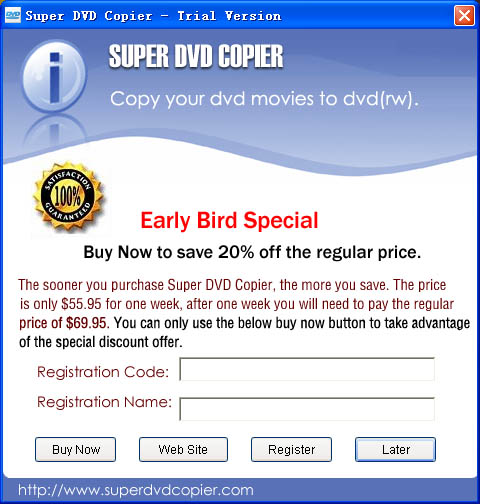 Super DVD Copier Software Download