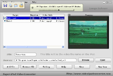 Super iPod Video Converter build 2008 Software Download