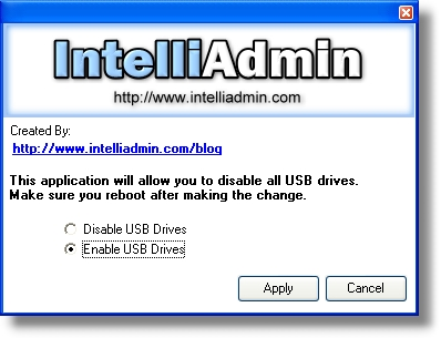 USB Drive Disabler Software Download
