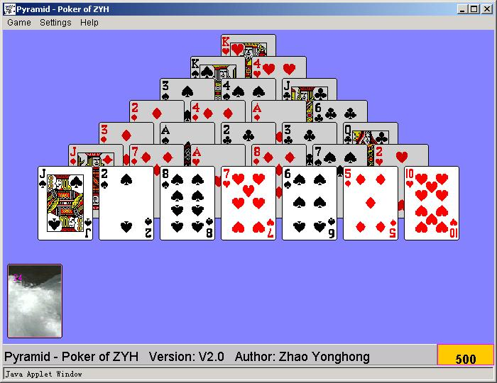 Pch Games Pyramid Solitaire | Games World